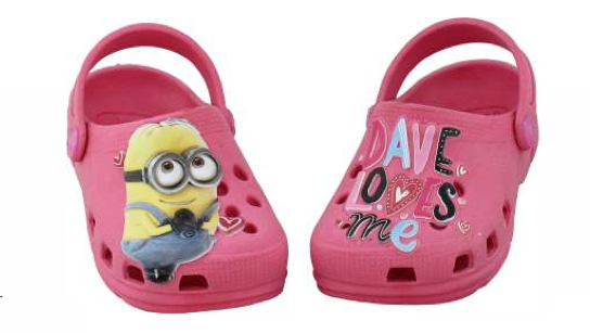 6c9d4767af BABUCHE MINIONS LOVE PINK PLUGT – Loja Angels Fly